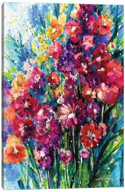 Floral Jubilee I Canvas Art Print