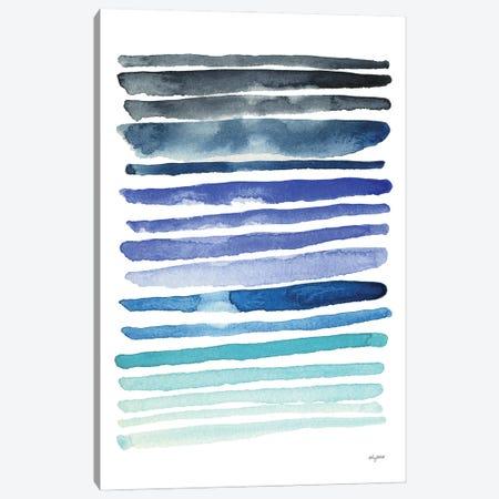 Blue Abstract II Canvas Print #KMT10} by Kelsey McNatt Canvas Art