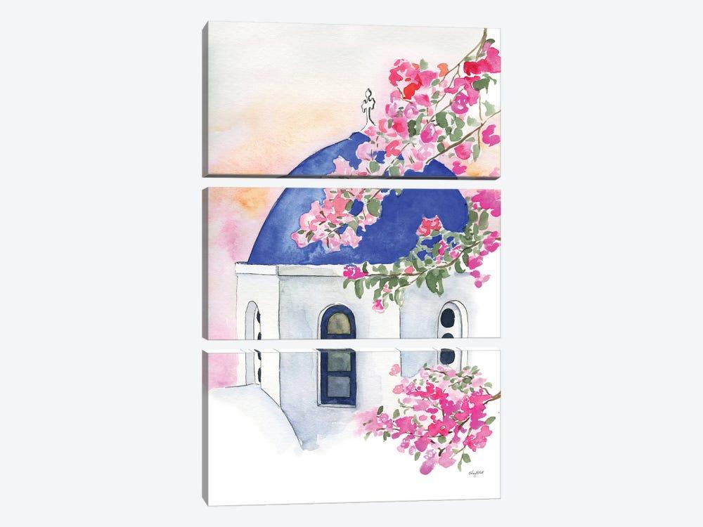 Santorini by Kelsey McNatt 3-piece Canvas Art