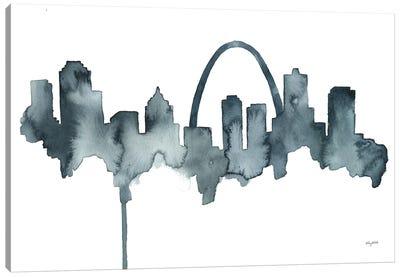St Louis Skyline Canvas Art Print