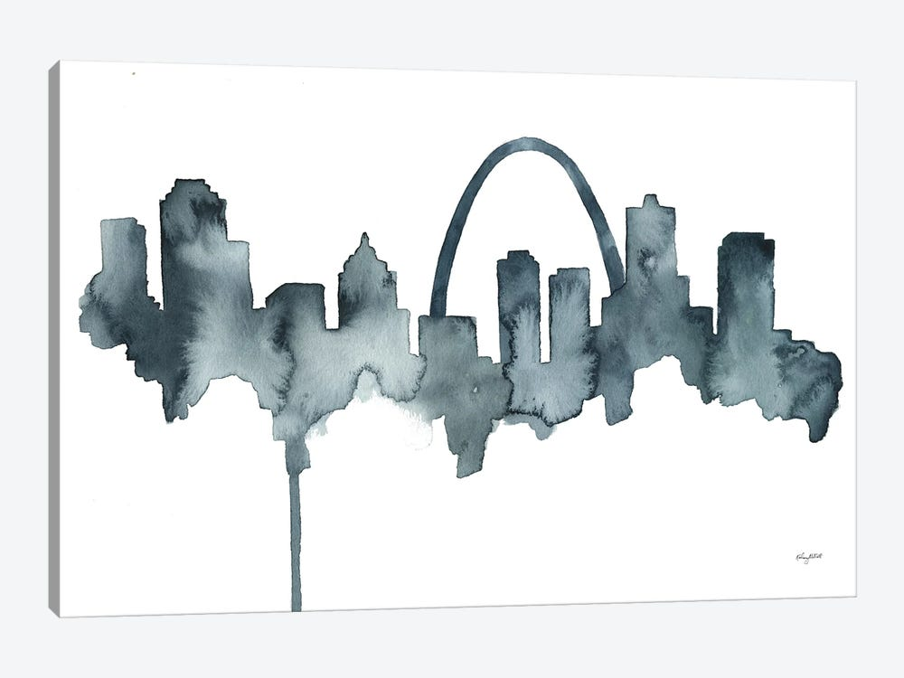 St Louis Skyline by Kelsey McNatt 1-piece Art Print