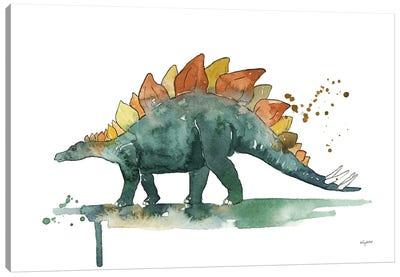 Stegosaurus Canvas Art Print