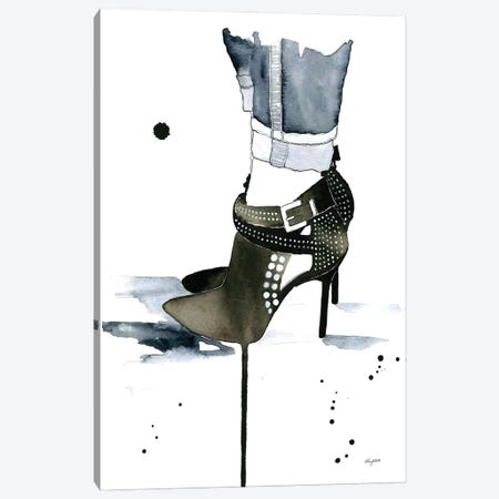 Studded Canvas Print #KMT125} by Kelsey McNatt Art Print