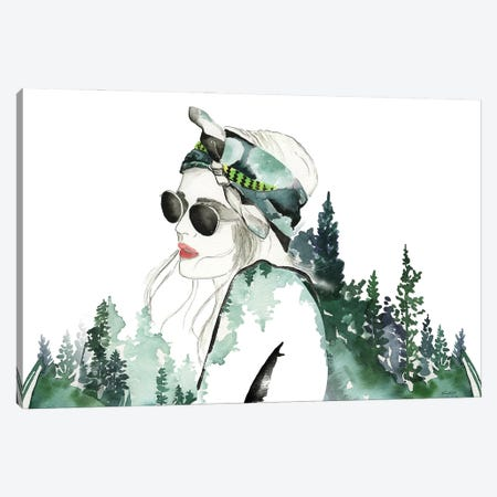 Summer Girl Canvas Print #KMT127} by Kelsey McNatt Canvas Print