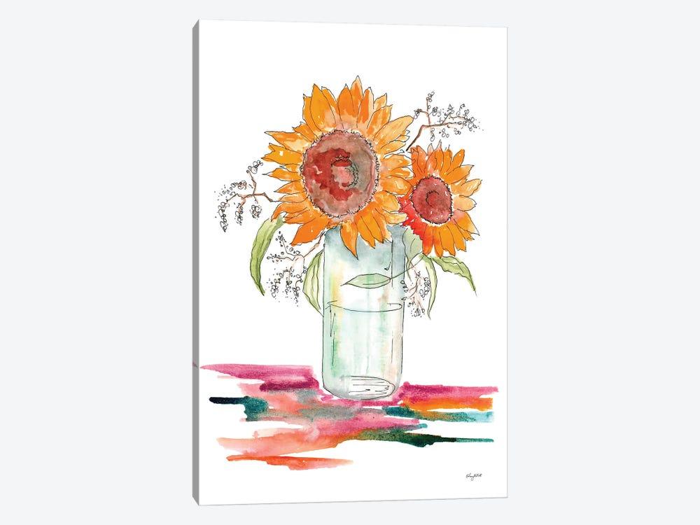 Sunflower by Kelsey McNatt 1-piece Canvas Artwork