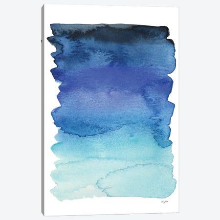 Blue Abstract IV Canvas Print #KMT12} by Kelsey McNatt Canvas Wall Art