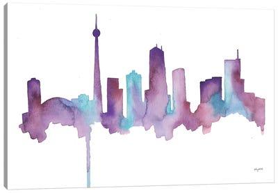Toronto Skyline Canvas Art Print