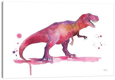 Trex Canvas Art Print