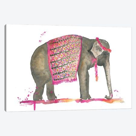 Tribal Elephant Canvas Print #KMT140} by Kelsey McNatt Canvas Art