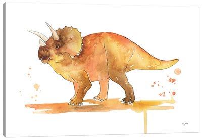 Triceratops Canvas Art Print