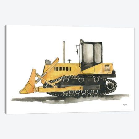 Bulldozer Canvas Print #KMT147} by Kelsey McNatt Art Print