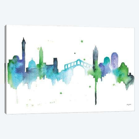 Venice Skyline Canvas Print #KMT165} by Kelsey McNatt Canvas Art Print