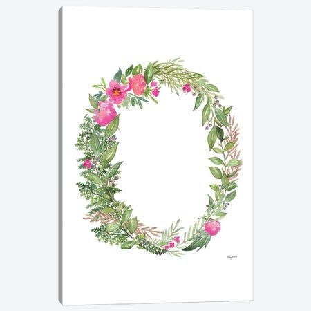 Botanical Letter O Canvas Print #KMT30} by Kelsey McNatt Canvas Art
