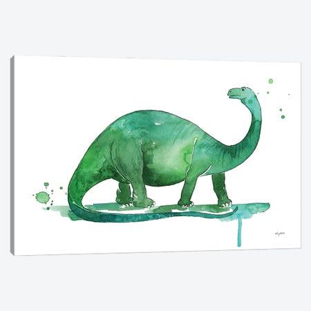 Brontosaurus Canvas Print #KMT42} by Kelsey McNatt Canvas Art Print