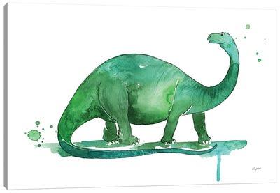 Brontosaurus Canvas Art Print