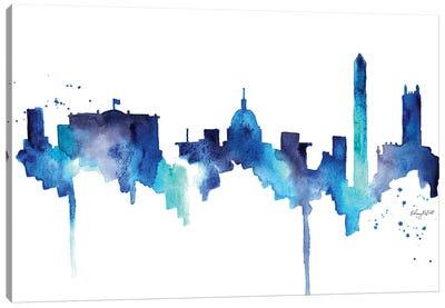 DC Skyline Canvas Art Print