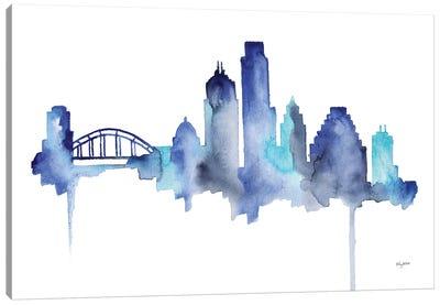 Austin Skyline Canvas Art Print
