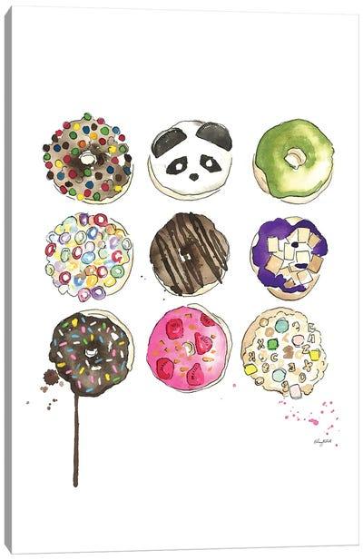 Donuts Canvas Art Print