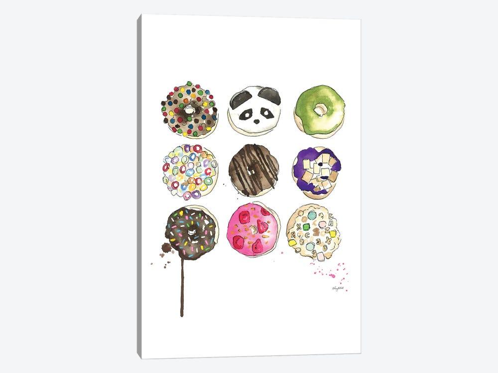 Donuts by Kelsey McNatt 1-piece Canvas Art