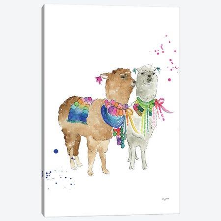 Drama Llama Canvas Print #KMT52} by Kelsey McNatt Canvas Artwork