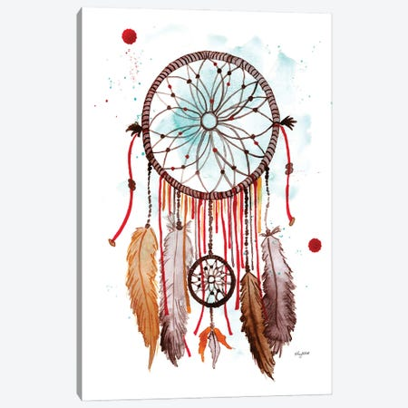 Dreamcatcher II Canvas Print #KMT54} by Kelsey McNatt Art Print