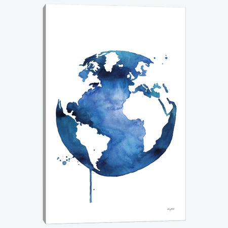 Earth Day Canvas Print #KMT58} by Kelsey McNatt Canvas Art