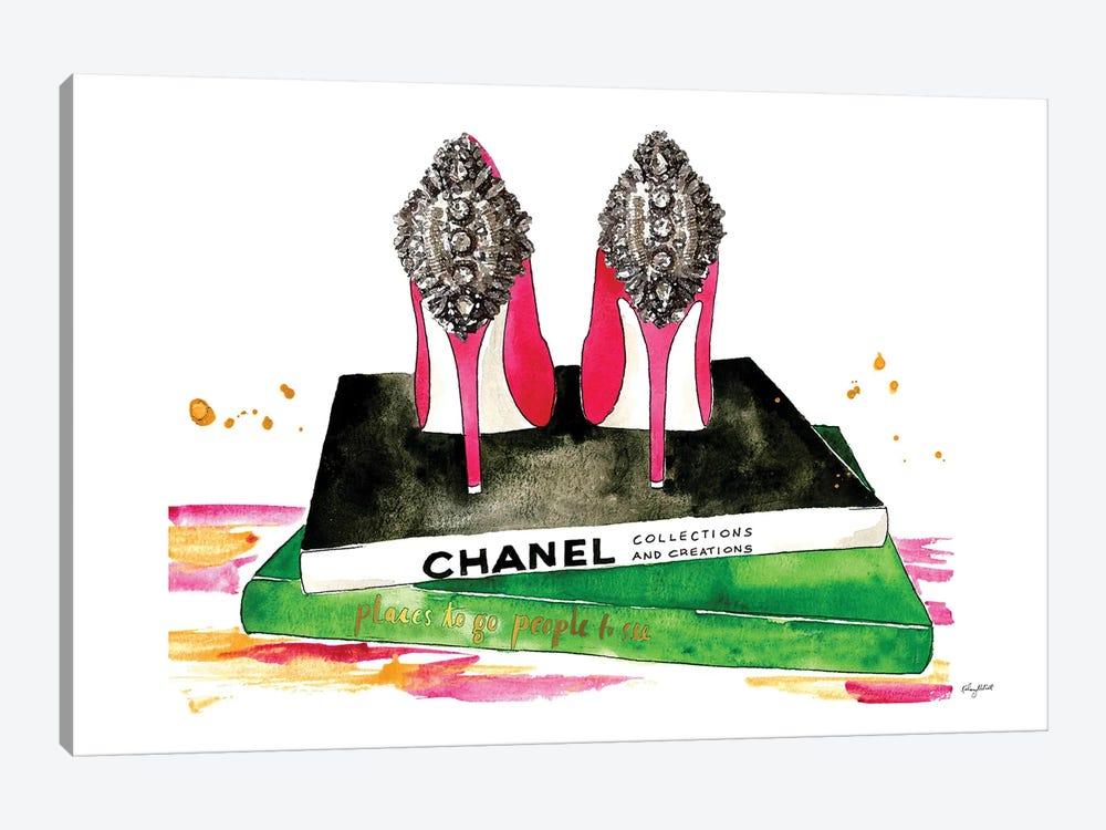 Pink Diamond Heels by Kelsey McNatt 1-piece Canvas Artwork