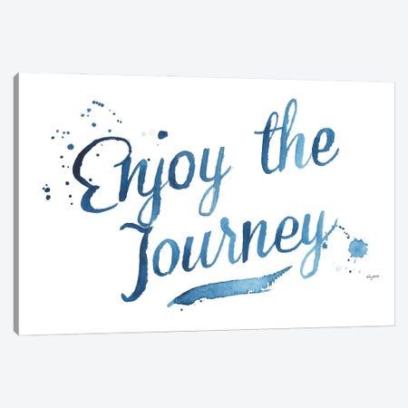 Enjoy The Journey Canvas Print #KMT60} by Kelsey McNatt Canvas Print