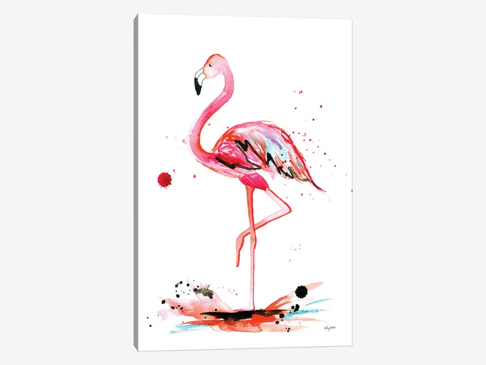 Flamingo 1-piece Canvas Print