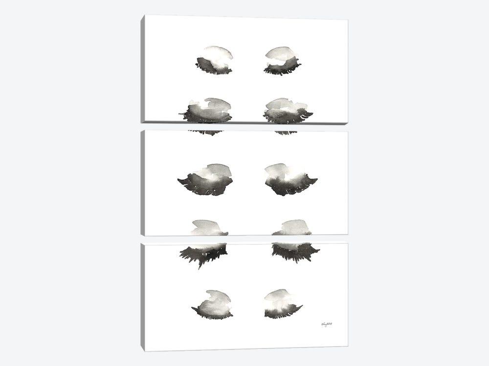 Bat A Lash by Kelsey McNatt 3-piece Canvas Print