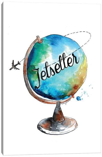 Jetsetter Canvas Art Print