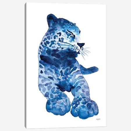 Lovely Leopard Canvas Print #KMT88} by Kelsey McNatt Canvas Print