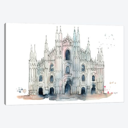 Milan Duomo Canvas Print #KMT89} by Kelsey McNatt Canvas Art Print