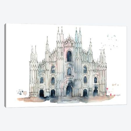 Milan Duomo Canvas Print #KMT89} by Kelsey McNatt Canvas Art Print