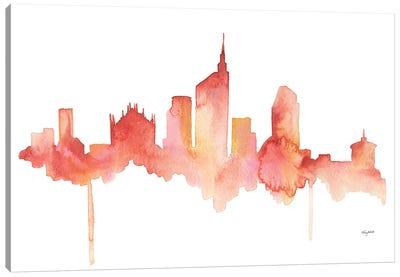 Milan Skyline Canvas Art Print