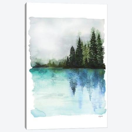 Misty Waters Canvas Print #KMT91} by Kelsey McNatt Canvas Artwork