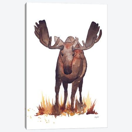 Moose Canvas Print #KMT95} by Kelsey McNatt Art Print