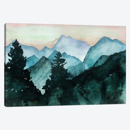 Mountain View Canvas Print #KMT96} by Kelsey McNatt Canvas Print