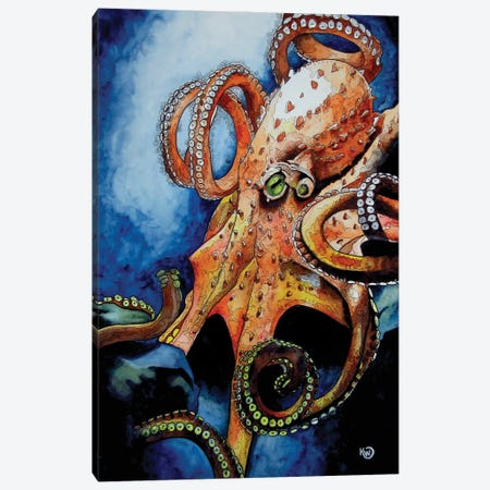 Sinister Canvas Print #KMW14} by Kim Winberry Canvas Art