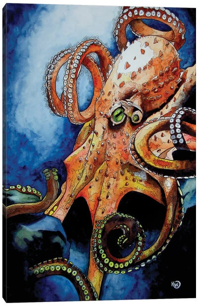 Sinister Canvas Art Print