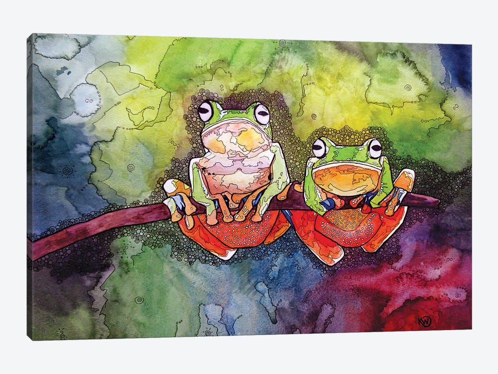 Two Of A Kind by Kim Winberry 1-piece Art Print