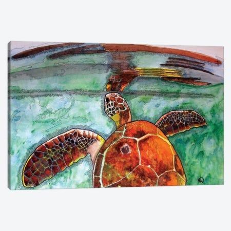 Reflection Canvas Print #KMW35} by Kim Winberry Canvas Art
