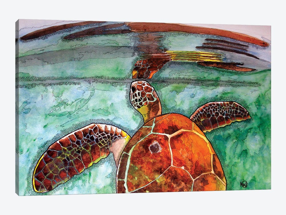 Reflection by Kim Winberry 1-piece Canvas Art Print