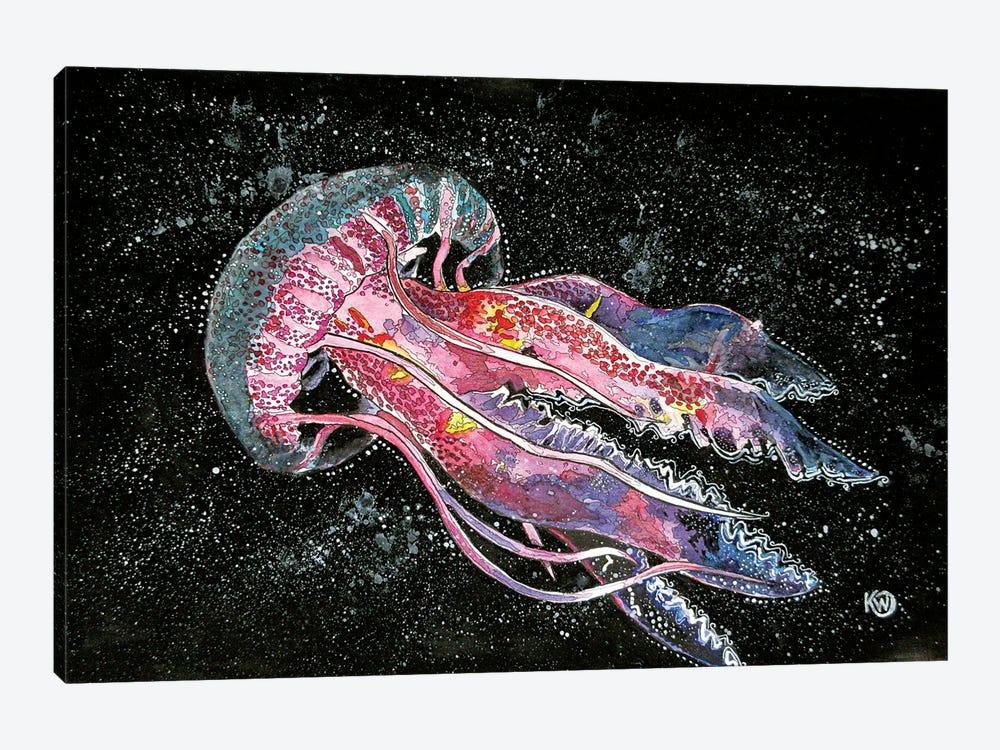 Jellyfish by Kim Winberry 1-piece Canvas Wall Art