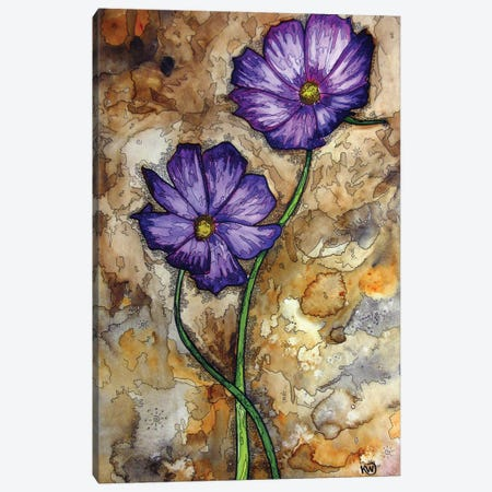 Duo Canvas Print #KMW42} by Kim Winberry Canvas Wall Art