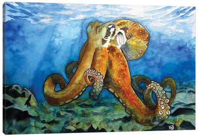 Bottom Of The Sea Canvas Art Print