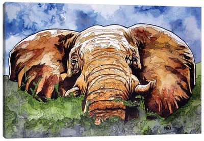 Majestic Canvas Art Print