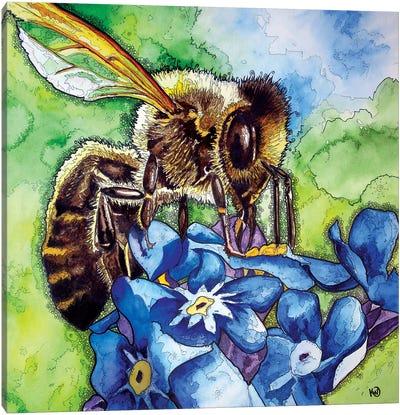Honeybee Canvas Art Print
