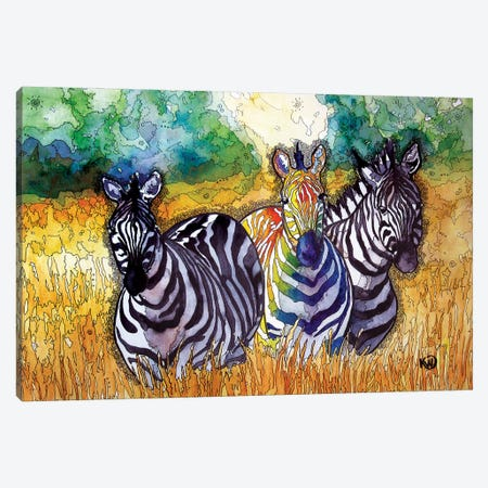 Dazzle In The Valley II Canvas Print #KMW62} by Kim Winberry Canvas Wall Art