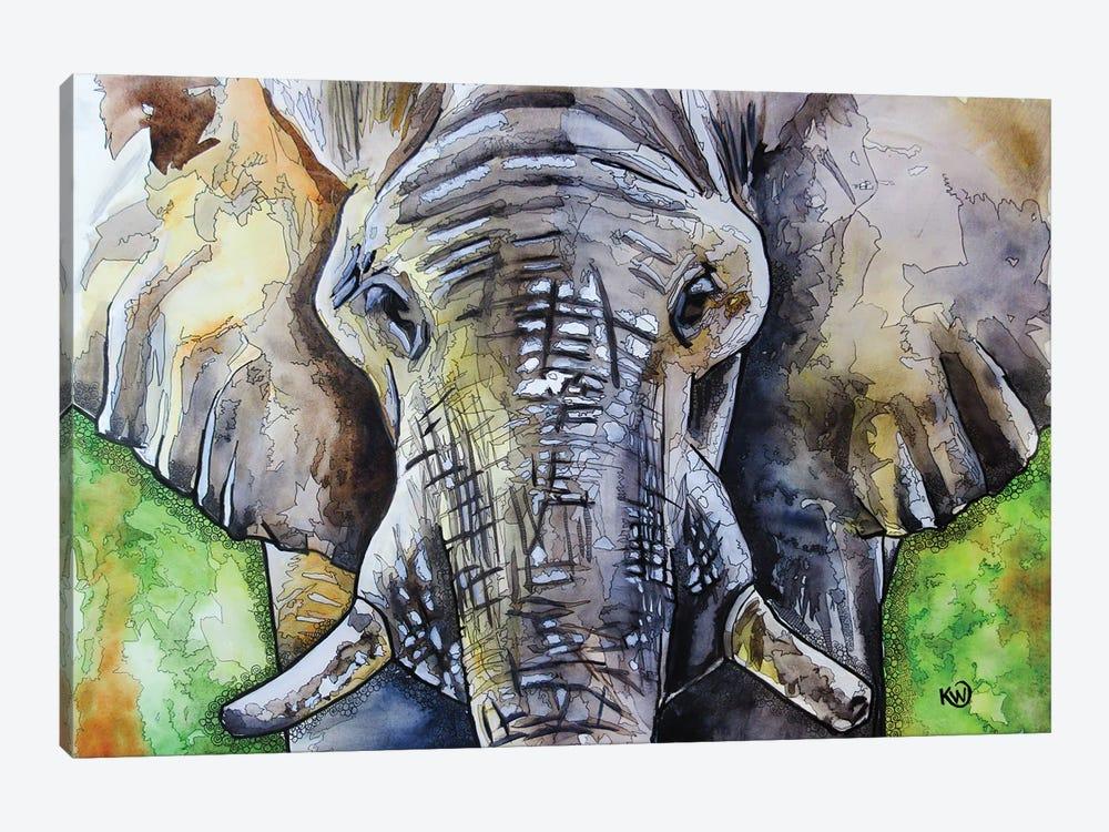 Bull II by Kim Winberry 1-piece Canvas Wall Art
